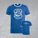 "BSG Stahl Riesa Fanshirt ""Wappen"" blau/weiß"
