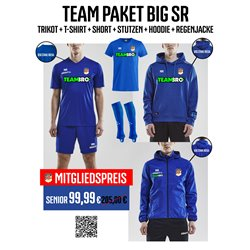 BSG Stahl Riesa Trainingspaket BIG Senior